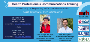 Health Professionals Communications Forum: Combating COVID-19 Misinformation @ Zoom
